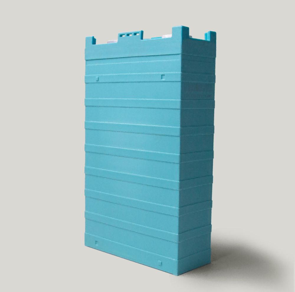 Plastic case primatic LFP battery cell
